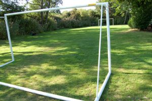 5 a side football pitch with goals